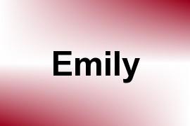 Emily name image