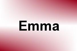 Emma name image