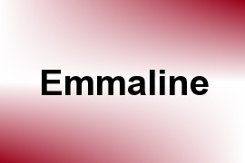 Emmaline name image