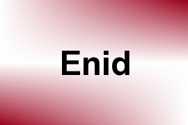 Enid name image