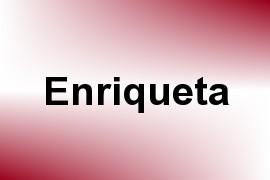 Enriqueta name image
