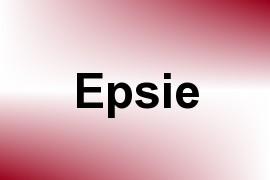 Epsie name image