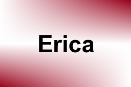 Erica name image