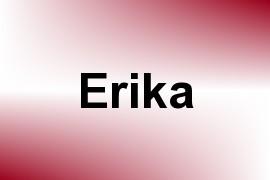 Erika name image