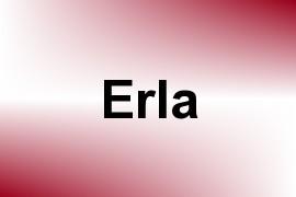 Erla name image