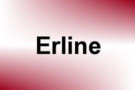Erline name image