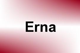 Erna name image