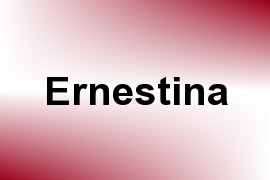 Ernestina name image
