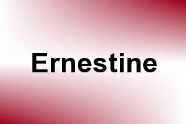 Ernestine name image