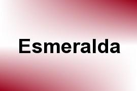 Esmeralda name image