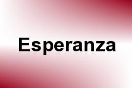 Esperanza name image