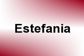 Estefania name image