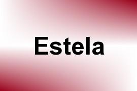 Estela name image