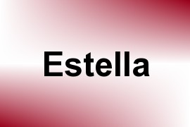 Estella name image