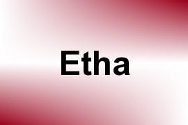 Etha name image