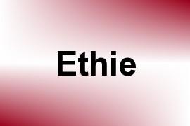 Ethie name image