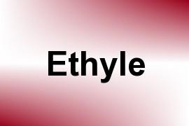 Ethyle name image