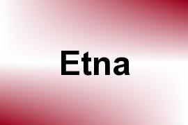 Etna name image