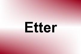Etter name image