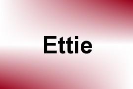 Ettie name image