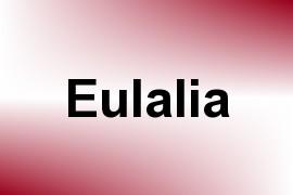 Eulalia name image