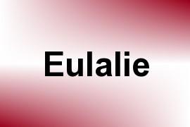 Eulalie name image