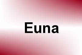 Euna name image