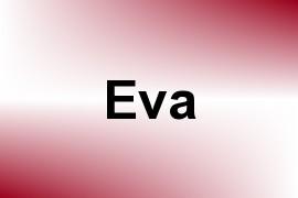 Eva name image
