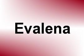 Evalena name image