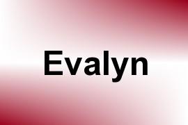 Evalyn name image