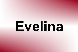 Evelina name image