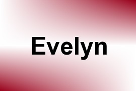 Evelyn name image