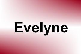 Evelyne name image
