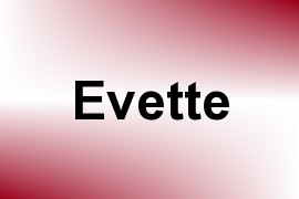 Evette name image