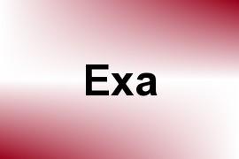Exa name image