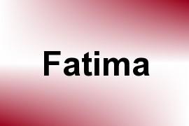 Fatima name image