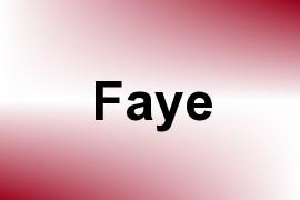 Faye name image