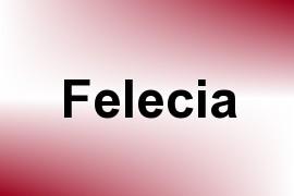 Felecia name image