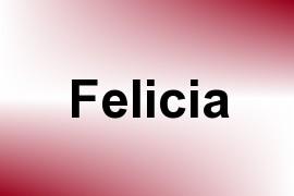 Felicia name image