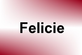 Felicie name image