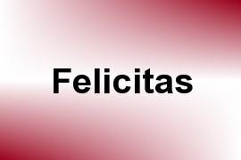Felicitas name image