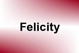 Felicity name image