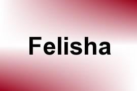 Felisha name image
