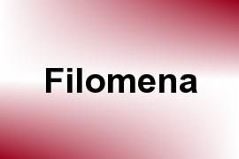 Filomena name image