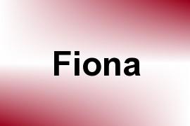 Fiona name image