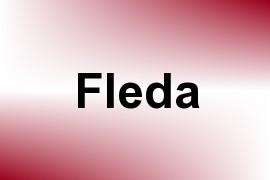Fleda name image