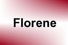 Florene name image