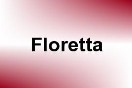 Floretta name image
