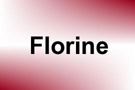 Florine name image