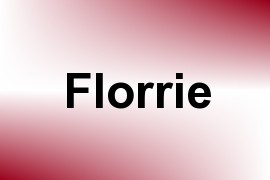 Florrie name image